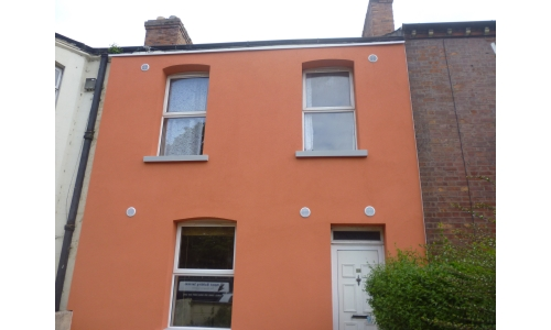External insulation to terrace house in Drumcondra, Dublin