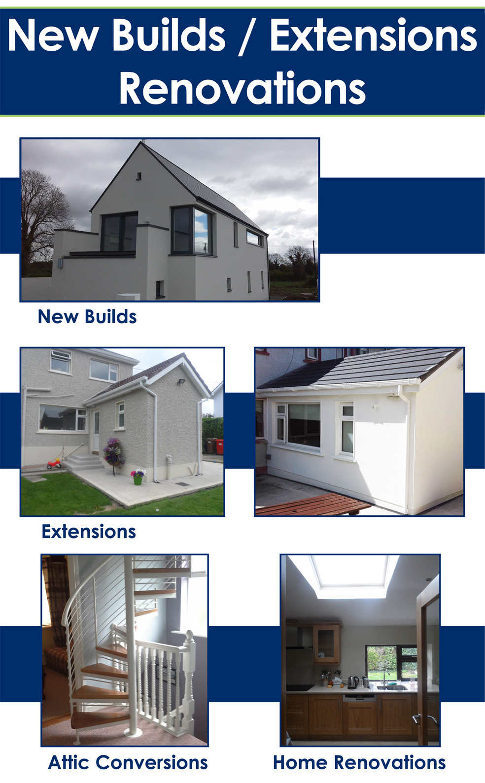 New Builds Extensions Home Renovations Amp Attic Conversions